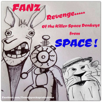 Revenge of the Killer Space Donkeys from Space cover art