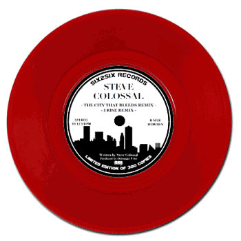 THE CITY THAT BLEEDS / I RISE Ltd. Ed. 7&quot; cover art