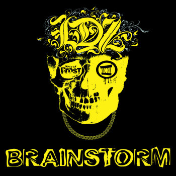 BRAINSTORM cover art