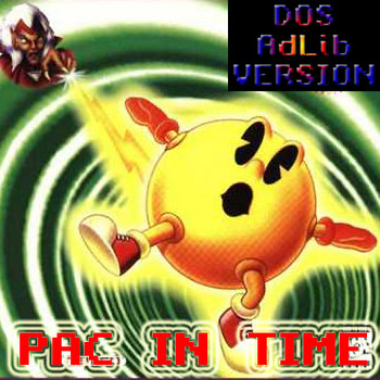 Pac in Time OST (DOS AdLib) cover art