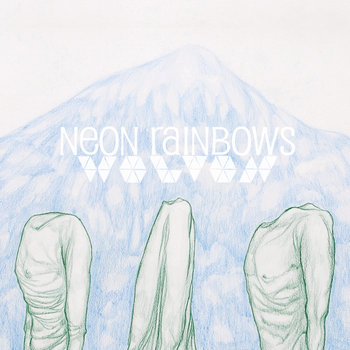 "WOLVON/NEON RAINBOWS SPLIT 7"" cover art"