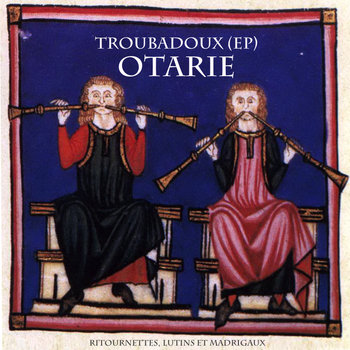 Troubadoux (EP) cover art
