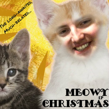 Meowy Christmas EP cover art