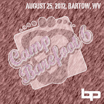 8/25/12 - Camp Barefoot - Bartow, WV cover art