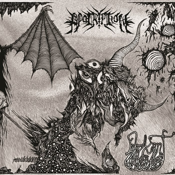 Apocryphon/Fabricant Split EP cover art