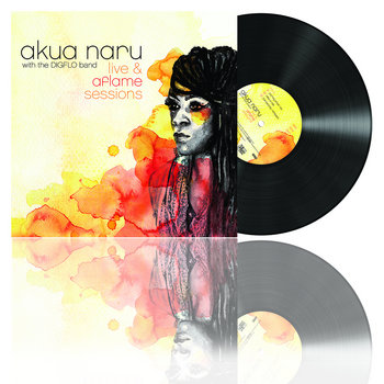 Akua Naru - Live & Aflame Sessions cover art