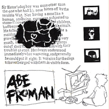 Abe Froman cover art