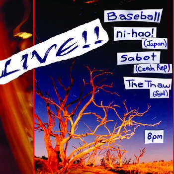 Live at Bar Open DVD cover art