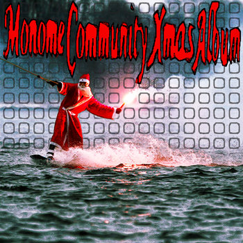 Monome Community Xmas Album cover art