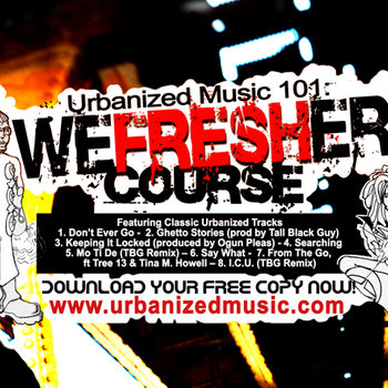 Urbanized Music 101:WEFRESHER Course cover art