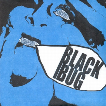 THE BLACK BUG - I Don't Like You 7'' cover art