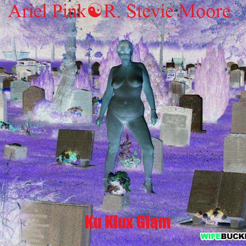 Ku Klux Glam ~ Ariel Pink R. Stevie Moore cover art