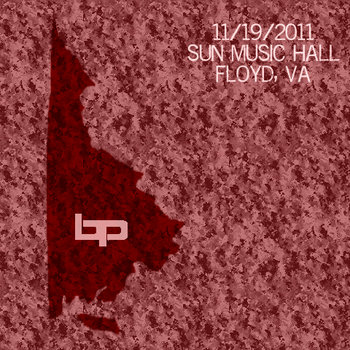 Live at Sun Music Hall, Floyd, VA - 11.19.11 cover art