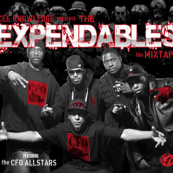Cee Knowledge presents &quot;The Expendables&quot; Mixtape cover art