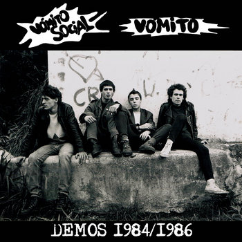 Vomito - demos 1984 - 1986 cover art