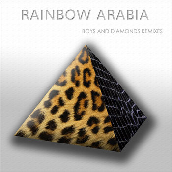 RAINBOW ARABIA Boys and Diamonds Remixes cover art