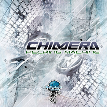 CHIMERA - Pecking machine (Biomechanix Records) cover art