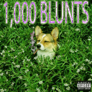1000 BLUNTS cover art
