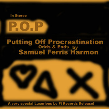 P.O.P/Putting Off Procrastination cover art
