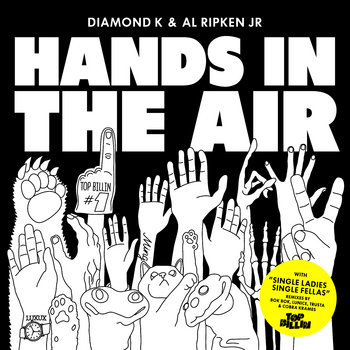 Hands In The Air EP cover art