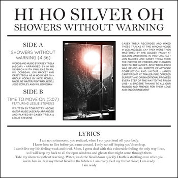 Showers Without Warning 7-inch record cover art