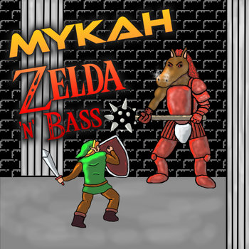 Zelda 'n' Bass cover art