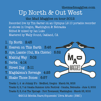 Up North & Out West cover art