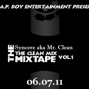 T.R.A.P. BOY Ent. Presents - The Clean Mix - Mixtape vol.1 cover art