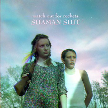 shaman shit e.p. cover art