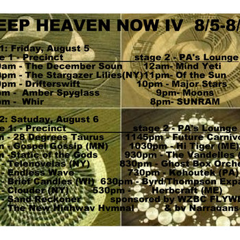 Deep Heaven Now IV compilation cover art
