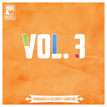 Pandarosa Records Sampler Vol. 3 cover art