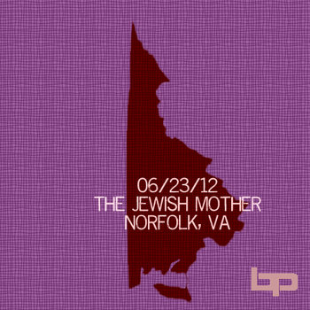 6/23/12 - Jewish Mother - Norfolk, VA cover art
