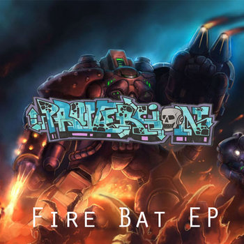 Fire Bat EP cover art