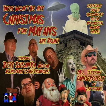 There Won&#39;t Be Any Christmas If The Mayans Are Right! cover art
