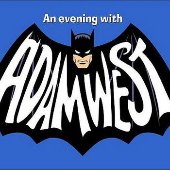 &quot;An Evening With ADAM WEST&quot; cover art
