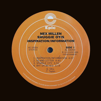 Nex Millen/Shuggie Otis cover art