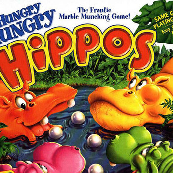 Hungry Hungry Hippos (Let Me Spin, Coach!) cover art