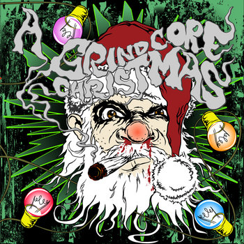 A Grindcore Christmas cover art
