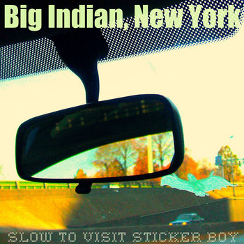 Slow To Visit Sticker Boy cover art
