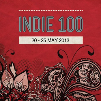 Indie 100 2013 cover art