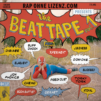 Rapohnelizenz - The Beat Tape Vol.1 cover art