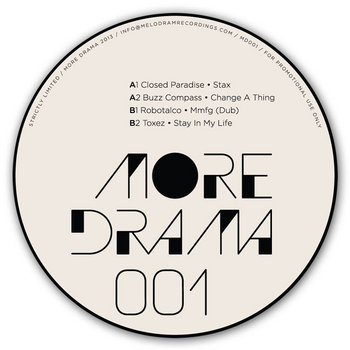More Drama 001 cover art