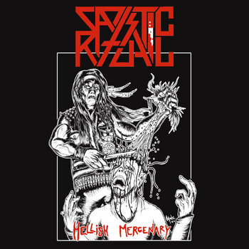"Hellish Mercenary 7"" cover art"