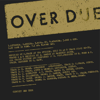 Overdue cover art