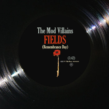 "Fields (Remembrance Day) ""single mix"" cover art"