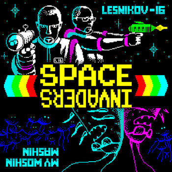 Space Invaders (Split) cover art