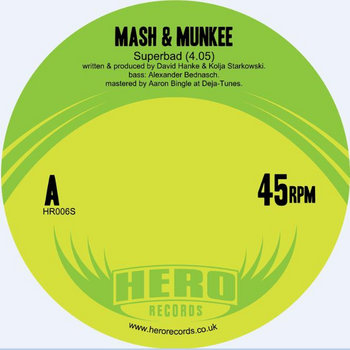 Mash & Munkee 'Superbad' (HR006S) cover art