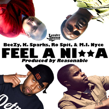 FEEL A NI**A - Single cover art