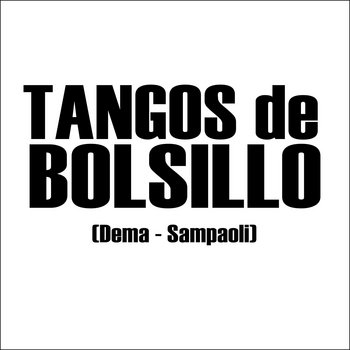 Tangos de bolsillo Album blanco cover art