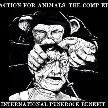 "Action For Animals 7"" Compilation cover art"